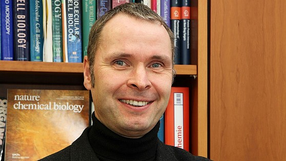 Professor Dr. Volker Haucke, Director at the Leibniz Research Institute for Molecular Pharmacology (FMP)