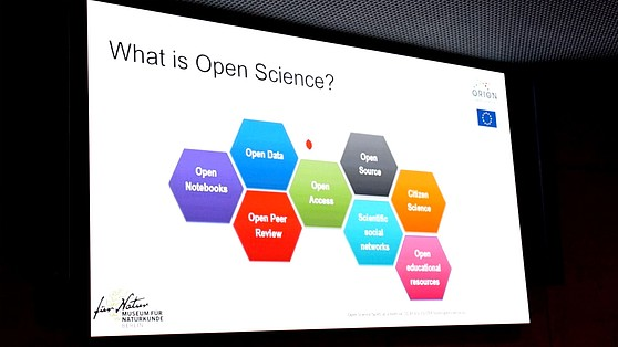Projektion: Was ist Open Science?