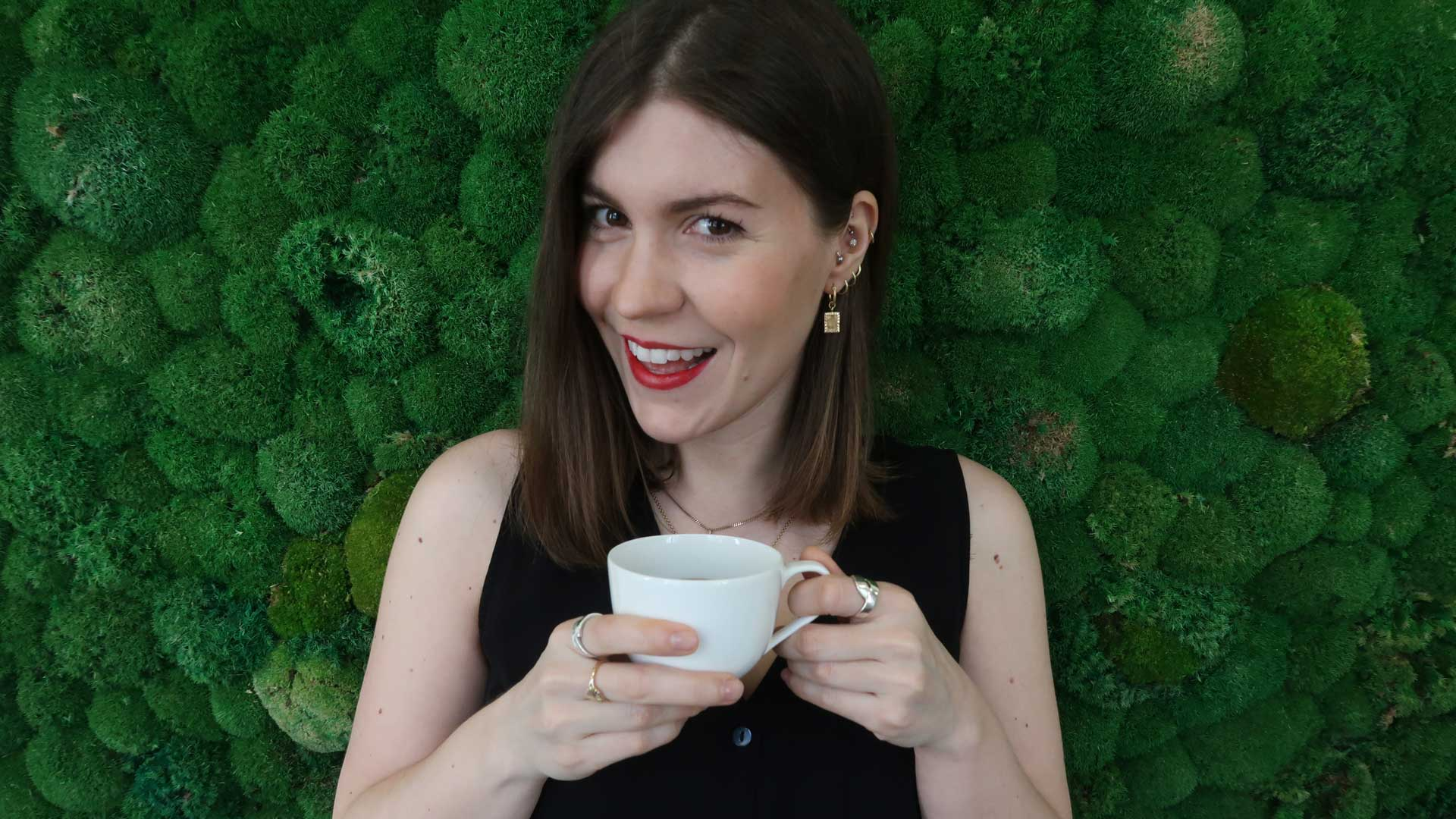 "Franziska Sattler, Host of ""Talking Science over Coffee"