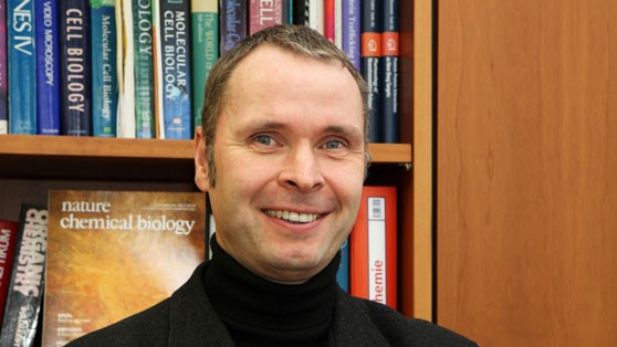 Professor Dr. Volker Haucke, Director at the Leibniz Research Institute for Molecular Pharmacology (FMP).