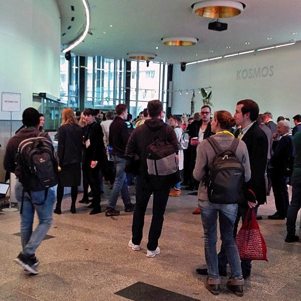 The KOSMOS Berlin: 700 guests interested in Berlin Sciences